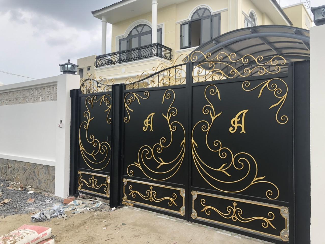 cửa cổng cnc sắt mỹ thuật sài gòn - tphcm