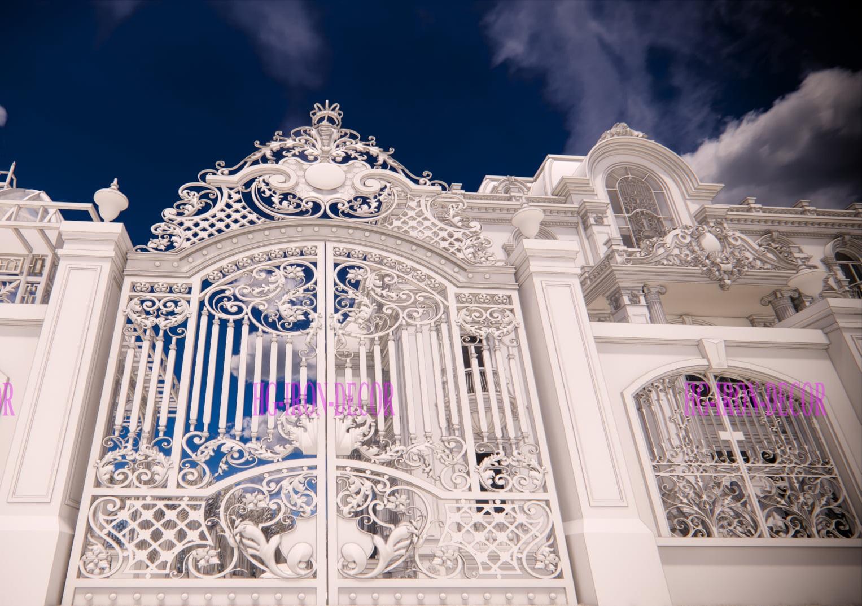 mẫu cửa cổng đẹp mẫu thiết kế làm cửa cổng sắt mỹ thuật  (5)