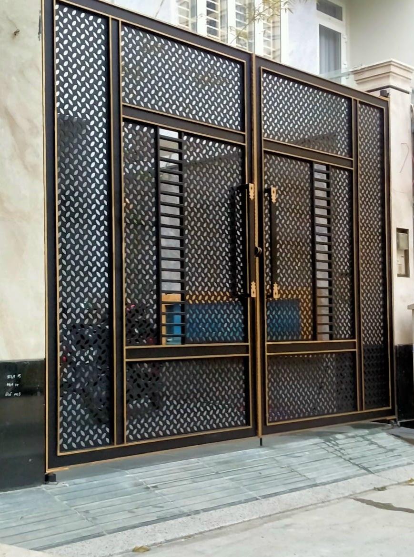 mẫu cửa cổng cnc đẹp thiết kế giản đơn